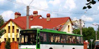 """Тролейбус """"Skoda 14Tr/M"""", придбаний у 2013 році"""