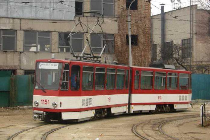 Трамвайний вагон