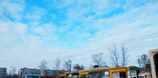 списані тролейбуси у депо