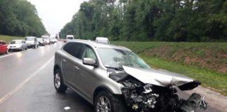 Аварія за участі посла на Львівщині