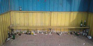 Зупинка у Яворівському районі