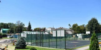 На Яворівщині триває будівництво нових спортивних об'єктів