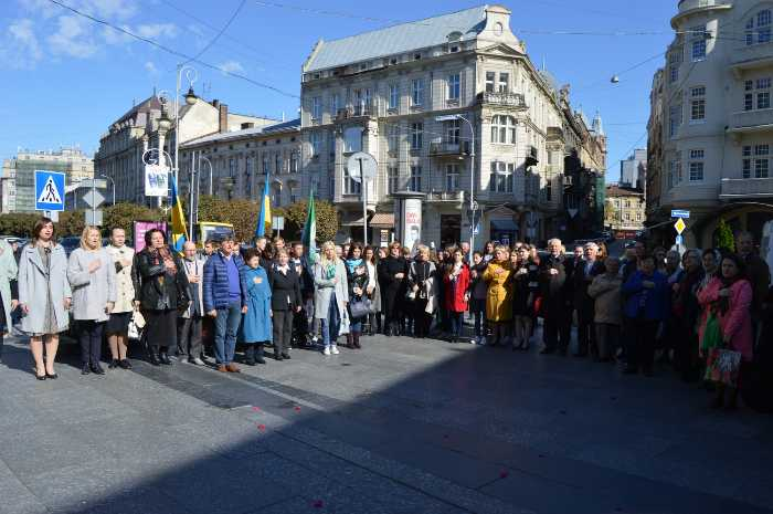 На Львівщині вшанували постать Михайла Грушевського
