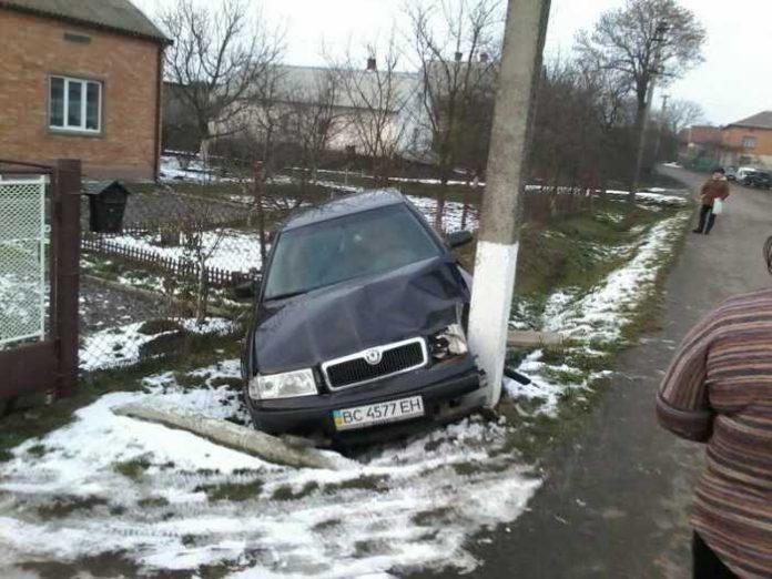 Аварія на Львівщині. Фото Варта-1