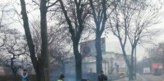 Ямковий ремонт на вулиці Шевченка. Фото Варта-1