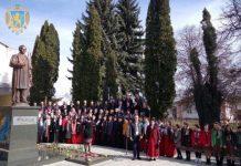 У Буську відкрили пам'ятник Тарасу Шевченку