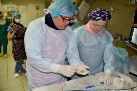 У Львівському кардіоцентрі провели операції вродженої вади серця сучасним малотравматичним ендоваскулярним методом