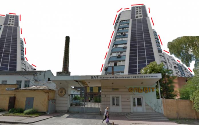 У Львові на місці нафтомаслозаводу збудують житлові висотки