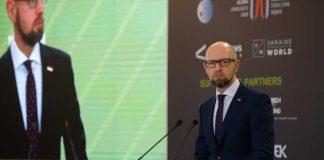 Арсеній Яценюк: Плани Путіна незмінні. Кремль можуть протверезити жорсткі фінансові й персональні санкції проти вищого керівництва РФ