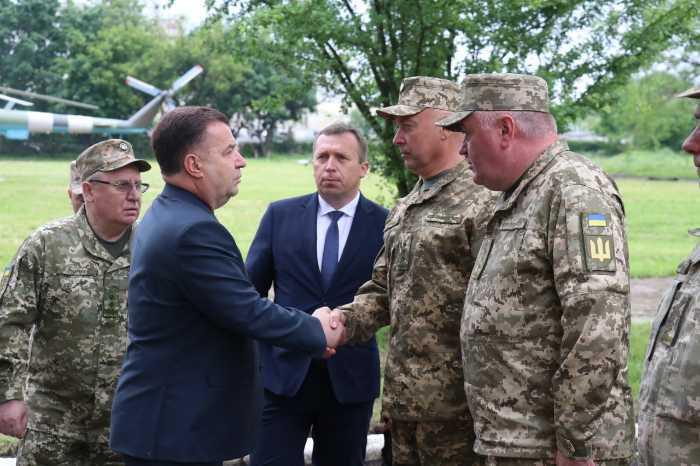 Міністр Полторак приїхав у Червоноград