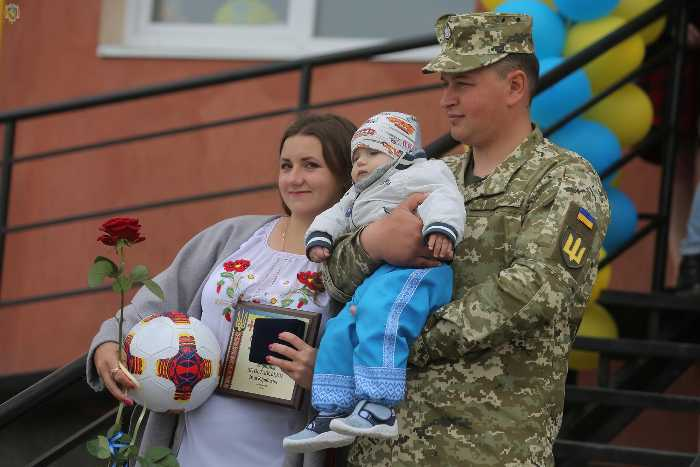 На Львівщині відкрили житловий будинок для військовослужбовців