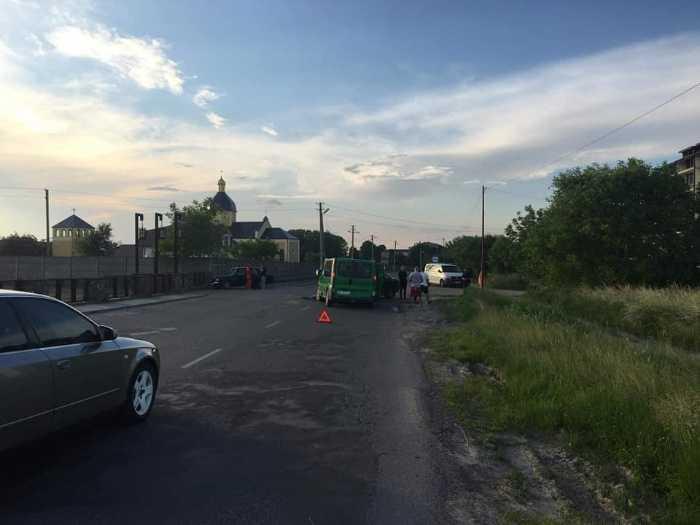 У Буську сталась аварія. Фото Буське радіомовлення
