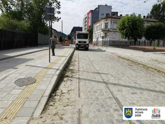 Завтра у Львові обіцяють відкрити частину Замарстинівської