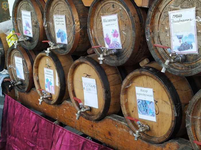 На Львівщині стартував Фестиваль винограду та вина «Галицька лоза»
