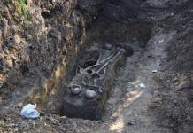 У Дрогобичі виявили нові захоронення жертв політичних репресій НКВС