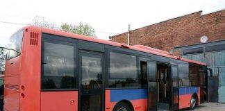 На маршрутах Львова приватні перевізники тестують автобус Volvo, привезений зі Скандинавії