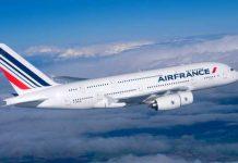 """Літак авіакомпанії """"Air France"""". Фото відкриті джерела."""