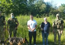 У Шегинях затримали турків-нелегалів. Фото: Мостиський прикордонний загон.